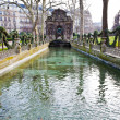 Medici Fountain in luxembourg garden in Paris — Stock Photo