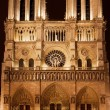 Cathedral Notre-Dame de Paris - Stock Photo