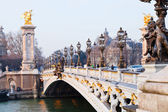 Pont alexandre iii in Paris — Stock Photo
