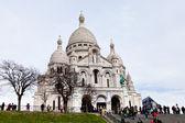 Basílica de Sacré coeur em paris — Fotografia Stock