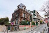 Houses on Montmartre, Paris — Stock Photo