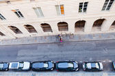 Parking cars in Paris — Stock Photo