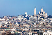 Montmartre hill in Paris — Stock Photo
