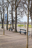 パリのリュクサンブール公園 — ストック写真