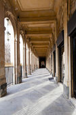 Arcade of Palais-Royal Palace in Paris — Stock Photo