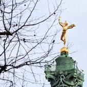 Coluna de julho em paris — Foto Stock