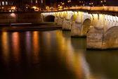 Pont Neuf in Paris at night — Stock Photo