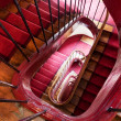 Spiral steps in old house — Stock Photo #23500129