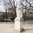 Statue french queen in Paris — ストック写真