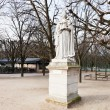 Statue french queen in Paris — Photo