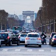 Avenues des Champs Elysees in Paris — Stockfoto #23849755
