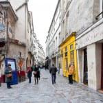 barrio judío de le marais de París, Francia — Foto de Stock   #23849835