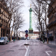 Stock Photo: View of Place de lBastille in Paris from