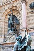 Brunnen sie saint-michel in paris — Stockfoto
