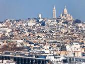 Montmartre Hill in Paris — Stock Photo