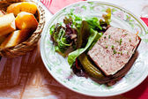 French meat pate — Stockfoto