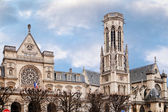 Church of Saint-Germain-l Auxerrois in Paris — Stock Photo