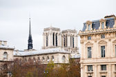 Paris-gebäude — Stockfoto