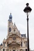 Kirche saint-etienne-du-mont in paris — Stockfoto