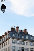 Typical house in Paris — Stock Photo