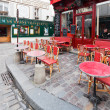 Постер, плакат: Parisian restaurant on montmartre