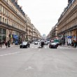 View of Avenue de l Opera in Paris — Stock Photo