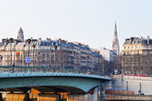 Pont de L Alma in Paris — Stock Photo