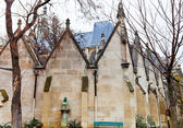 Walls of Musee de Cluny in Paris — Stock Photo