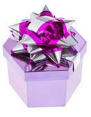 Shiny gift box — Stock Photo