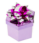 Shiny gift box — 图库照片