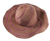 Broad brim felt hat — Stock Photo