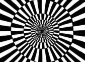 Koncentrisk cirkel prydnad — Stockfoto