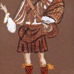Scottish grandee in 17th century — Stock Photo #26034459
