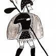 Постер, плакат: Warrior from Mycenae