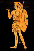 Ancient greece Warrior — Stock Photo