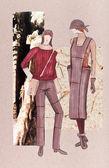 Clothes for autumn — Stock Photo