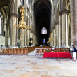 Nave of Reims Cathedral, France — Stock Photo