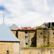 Stock Photo: Buildings of Secastle, France