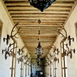 Hunting gallery in in Chateau de Chambord — Stock Photo