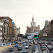 Stock Photo: Big Garden (BolshaySadovaya) street in Moscow