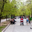 Clear Ponds Boulevard (Chistoprudniy) in Moscow — Stock Photo