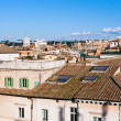 Residential district in Rome, Italy — Stock Photo #26633349