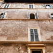 Stock Photo: Decorated medieval house in Rome, Italy