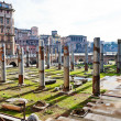 Ruins on Capitoline Hill in Rome — Stock Photo