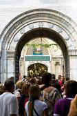 Entrance in Grand Bazaar (Grand Market) in Istanbul — Stock Photo