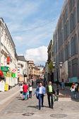 Kuznetsky Most street in Moscow — Stock Photo
