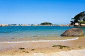 остров иль-де-бреа в бретани, франция — Стоковое фото