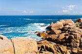 Pink Granite Coast in Brittany — Stock Photo