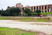 Ncient Palatine and ground of Circus Maximus — Stock Photo