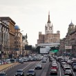 Big Garden (Bolshaya Sadovaya) street in Moscow — Stock Photo